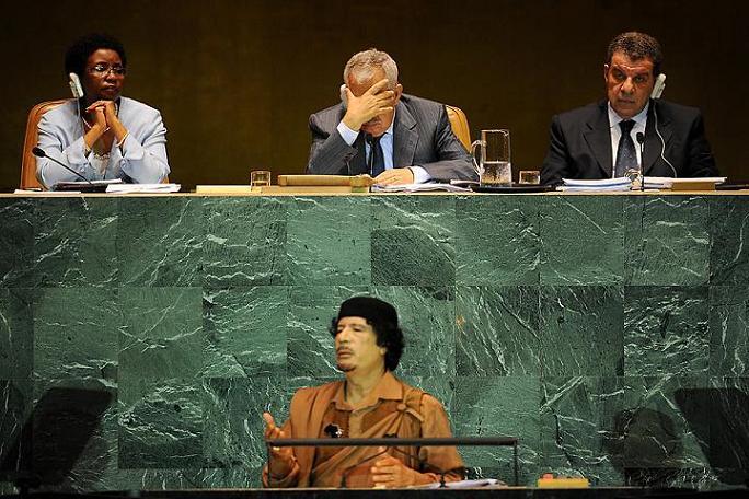UN-GENERAL ASSEMBLY-KADHAFI